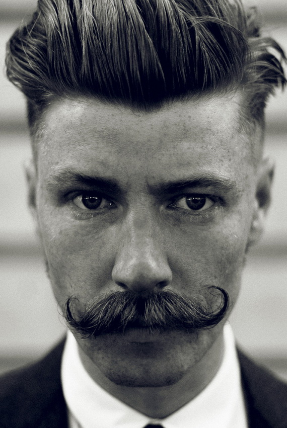 Wayne Anthonys Executive Barbers in Halifax, Hipperholme » Moustache